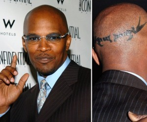 jamie-foxx-scar-tattoo-hair-implant