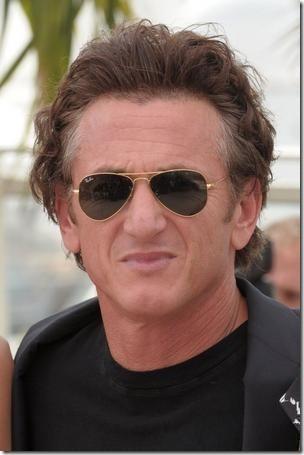 Sean Penn hairline after hair transplant